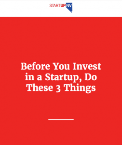 Before You Invest in a Startup Guide
